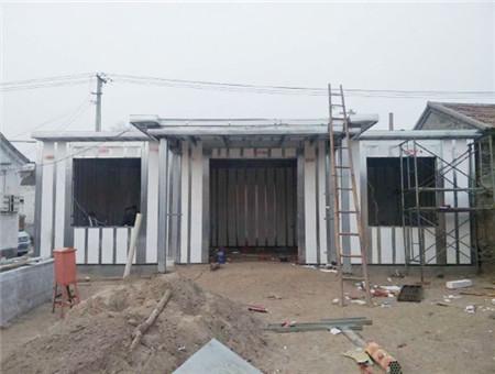 3D轻钢模块被动房屋