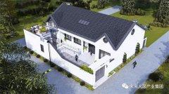 高性价比中式风格平层别墅设计,养老休闲都很经济实用